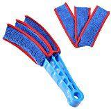 #3: FoVo Microfiber Blind Cleaner Shutters Window Blind Vertical Blinds Air Conditioner Blinds Blue