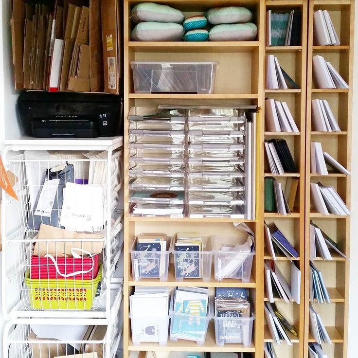 I bought new shelves for my studio on Ebay and did some bad measuring realised they wouldn't fit in the car at the very last minute... Luckily Tom's family were visiting and his dad helped me pick them up in his massive car hooray for in-laws! (Love how much I've managed to condense all my stock into a much smaller space )