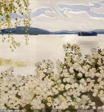 GALLEN-KALLELA Akseli Valdemar,White roses,Sotheby's,London