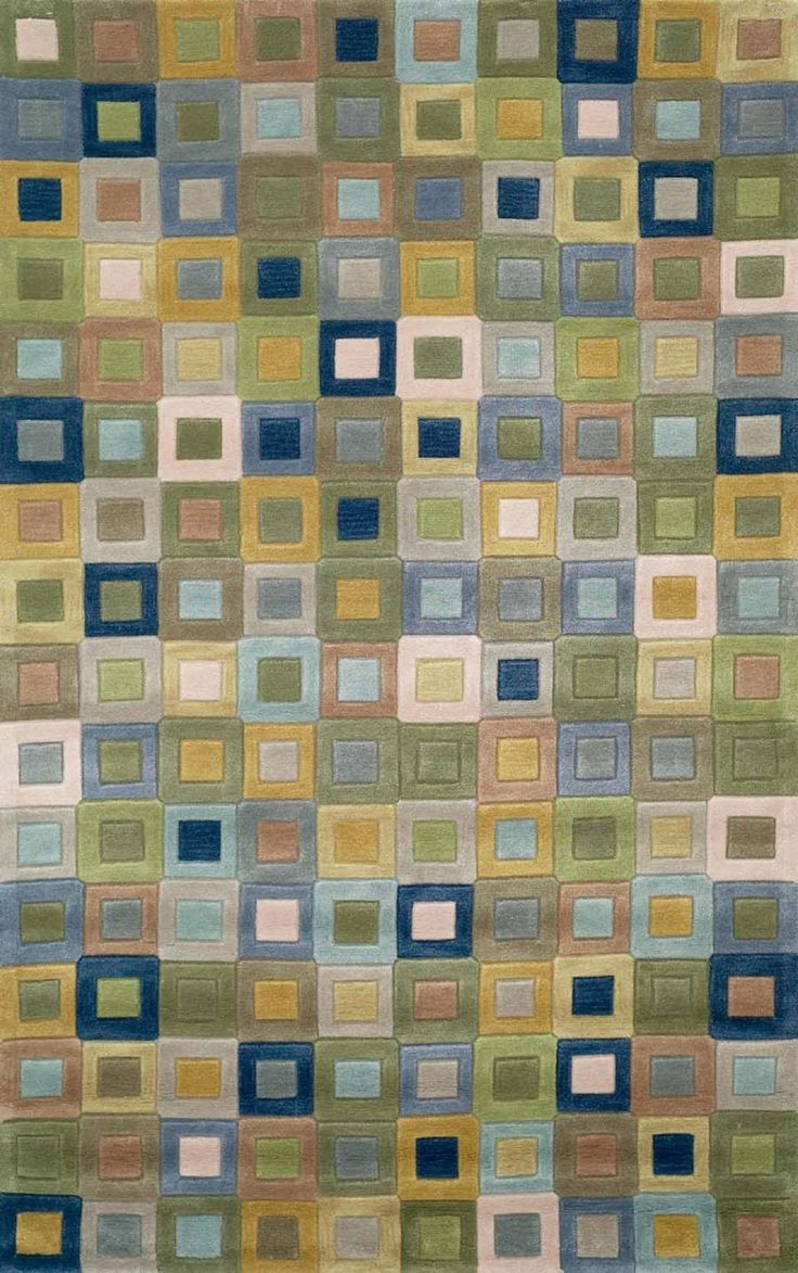 Nice Multi Colored Square Area Rugs   Trans Ocean Amalfi Square In Square Ocean  1966/04