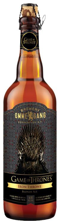 Pass me a horn of Game of Thrones ale please.      http://www.marsmusings.com/2013/03/13/game-of-thrones-beer-yes-please/