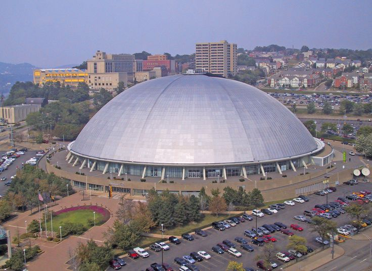 Civic Arena a.k.a. Mellon Arena a.k.a. The Igloo - Old Home Of The Pittsburgh Penguins NHL Hockey Team; Pittsburgh, PA | Flickr - Photo Sharing!