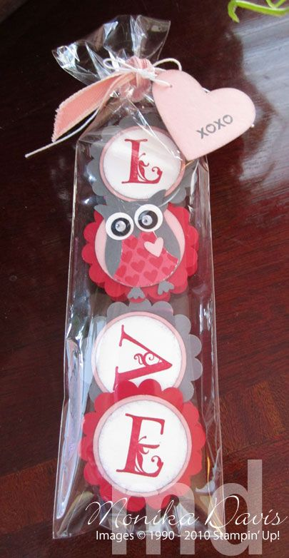 Owl Love Chocolate Treat - bjl