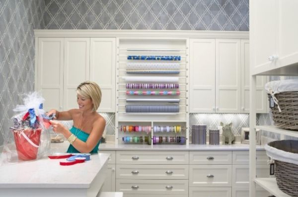 laundry/sewing/craft room ideas | ... room it s an office a craft room and a laundry room one wall is