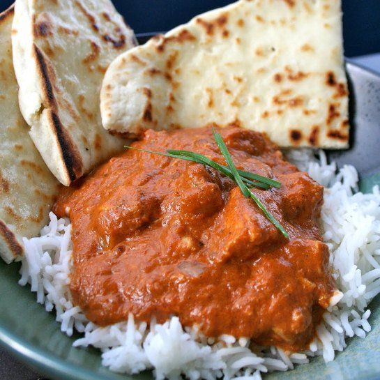 Slow Cooker Chicken Tikka Masala. Serve w/garlic Naan from ...