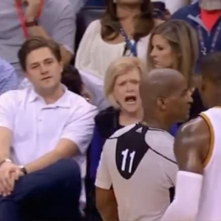 """The Thunder Fan Who Yelled """"Just Suck It Up!"""" at LeBron James Is Worth More Than $2 Billion"""