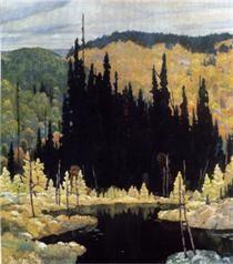 Autumn, Algoma - Frank Johnston