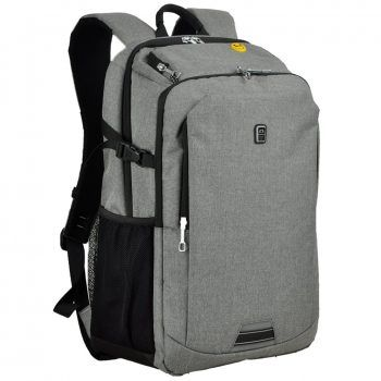 Koolerpek Waterproof Business Backpack For Laptop Up To Inch Grey