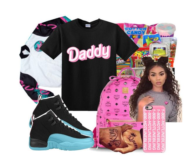 """""""Untitled #163"""" by kaykay027 ❤ liked on Polyvore featuring South Beach, MCM, Retrò and Casetify"""