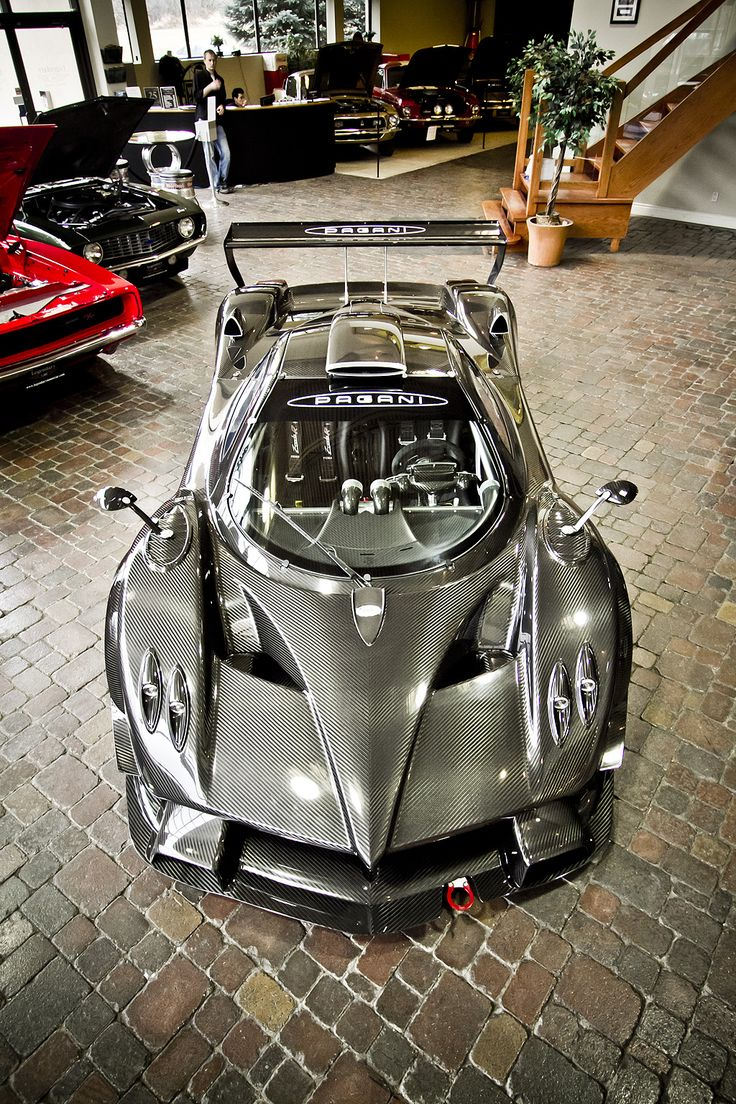 Hidden away in a dream-like garage, in a small Ontario town, is a rare example of the world's most exotic supercar.    We found this 2.3 million $$$ Pagani Zonda R at Legendary Motorcar Company in Milton, Ontario. It's a town of 90,000 people, just west of Toronto on Highway 401. A typical Canadian town with coffee shops, strip malls, even a provincial prison.    Now, it's home to the current King of Supercars.