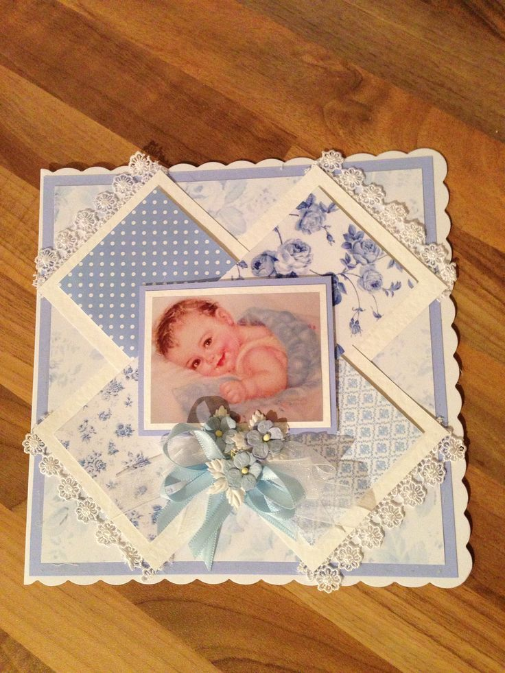Baby card (design by Yvonne Tune)