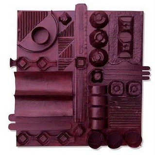 Great recycling/texture lesson... Louise Nevelson reference