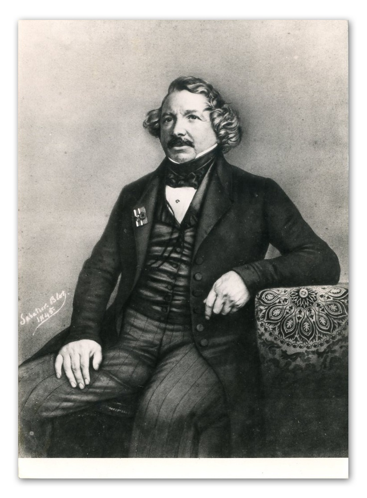 Archive photo of Louis Daguerre | eBay
