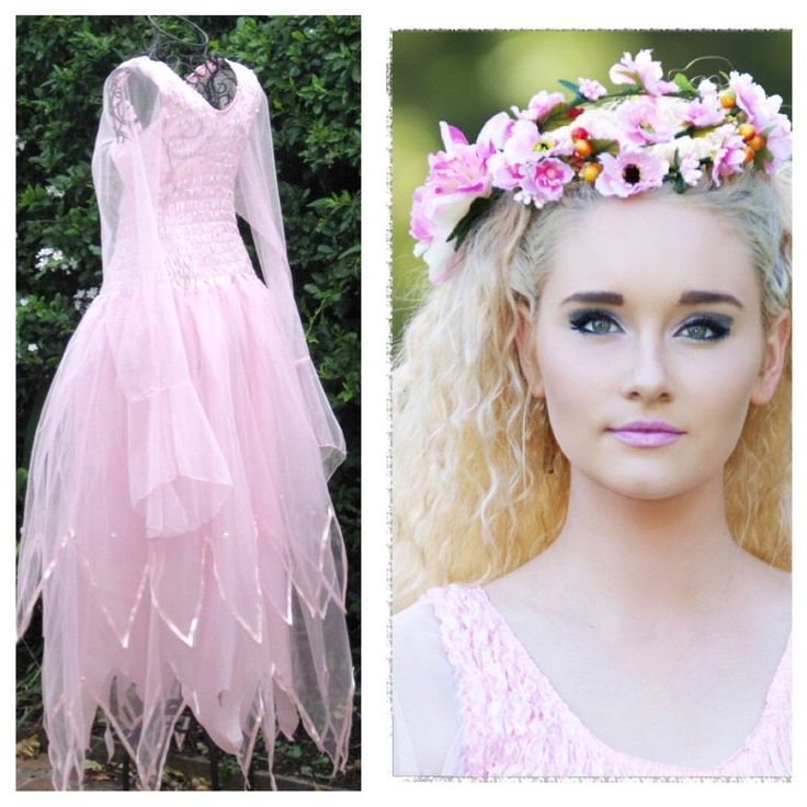 New Adult  Halloween  Fairy Dress ~ Plus Size Renaissance  Costume ~ Flower Crown ~ by SugarSweetFairies on Etsy https://www.etsy.com/listing/204072573/new-adult-halloween-fairy-dress-plus