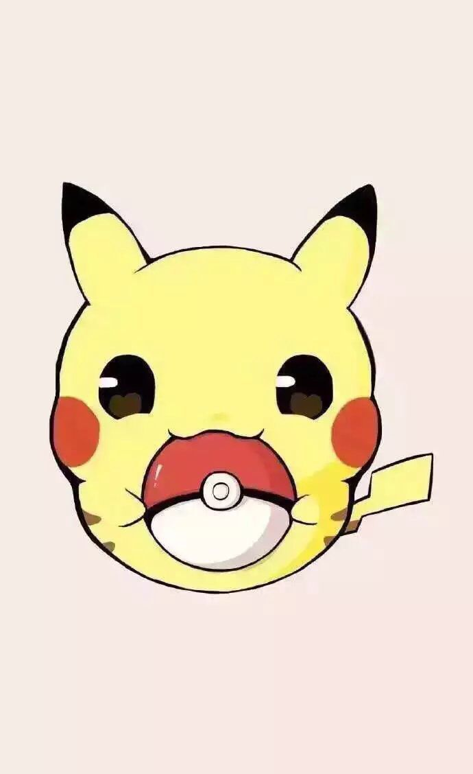 100 best pikachu images on pinterest wallpapers - Kawaii pikachu ...