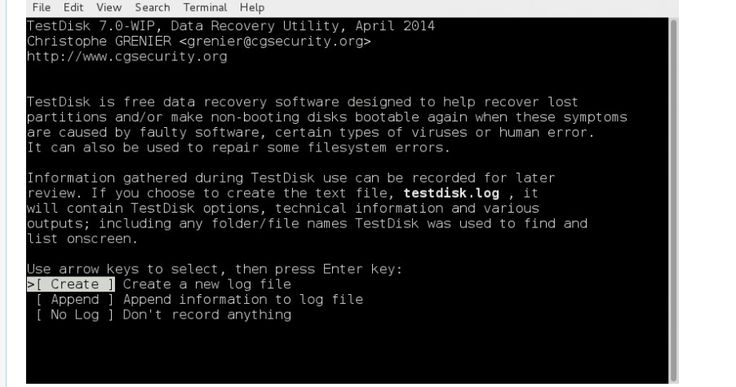 5 Free Linux Data Recover Tools 2014 - aiasmus