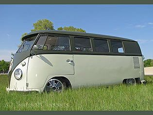 VW Bus for Sale: Air-Cooled VW Deluxe Buses and Camper Vans