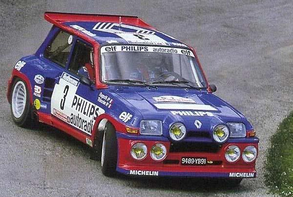 Renault 5 Turbo (WRC Group B)