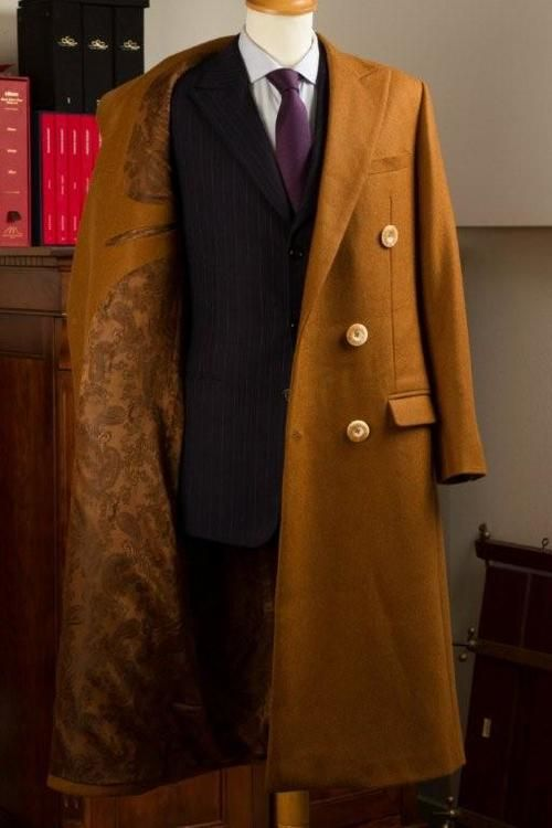 Vicuna Bespoke Coat, to wear with or without Jacket. The ...
