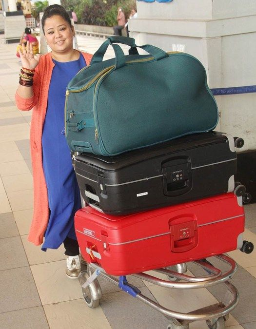 Comedienne Bharti Singh left for her dream destination wedding in Goa see pics