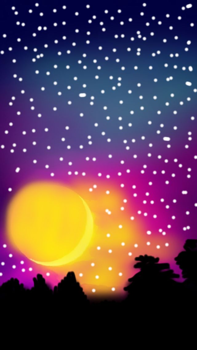 Yellows Moon