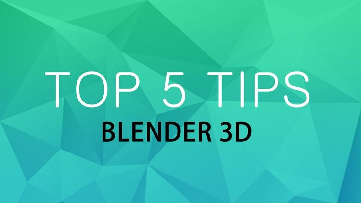 [Top 5] Blender 3d Tips and Tricks. Useful shortcuts for blender 3d.