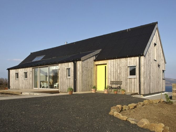Husabost The Long House Rural Design Architects Isle Of Skye And The Highlands