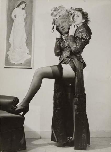 Leonor Fini, Paris, 1937.