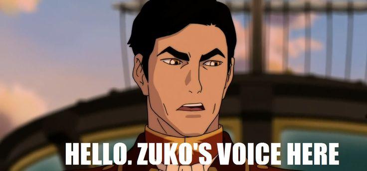 Hi. Zuko's Voice Here.