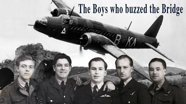 The Boys who Buzzed the Bridge - A crowd funding project