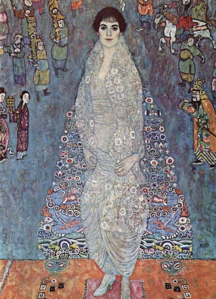 Arte Nobre  Gustav Klimt - Portrait of Baroness Elisabeth Bachofen-Echt, 1914-16  (JA, Mar17)