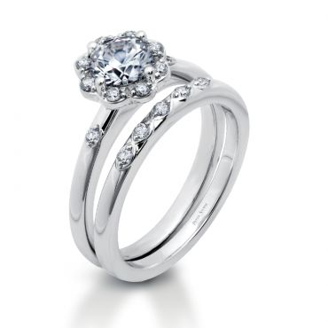 Style Number WS292D Category Halo Center Stone Size 75 To 125ct