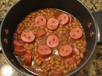 Pig Snouts and Beans Great for Halloween... Or every unHalloween. Or every meal ever.