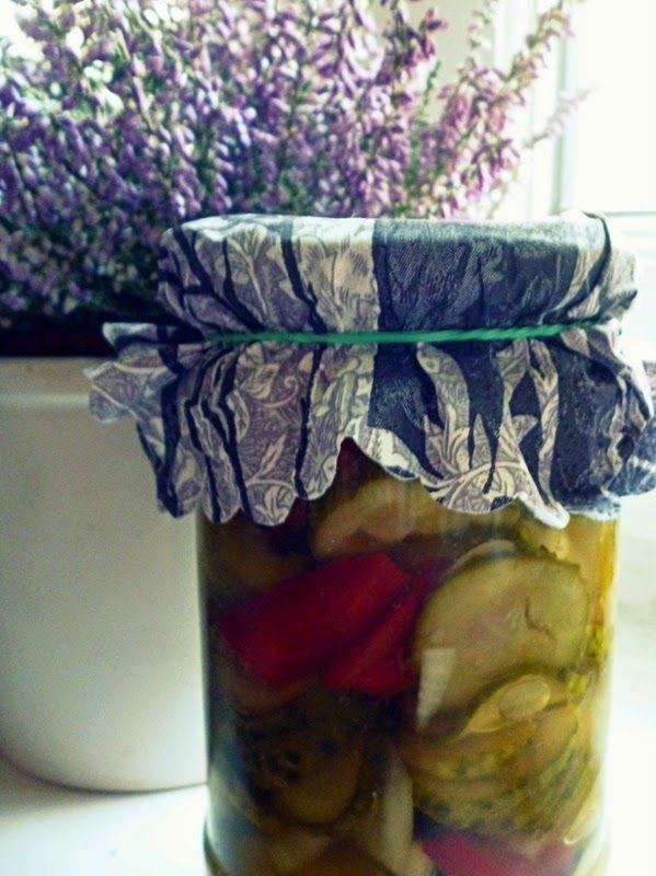 Podróże na języku: Szwedzka sałatka z ogórków