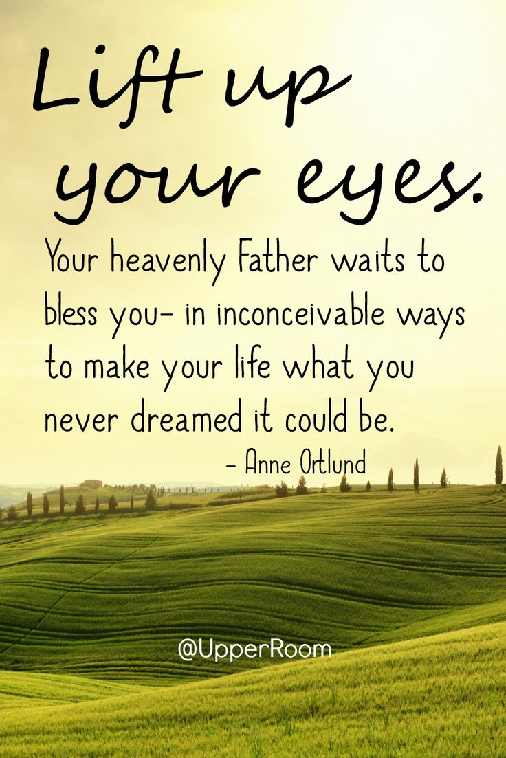 Your heavenly Father waits to bless you in inconceivable