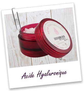 Actif cosmétique Acide hyaluronique Aroma-Zone