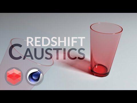 Redshift caustics quick walk-through [CINEMA 4D TUTORIAL] - YouTube