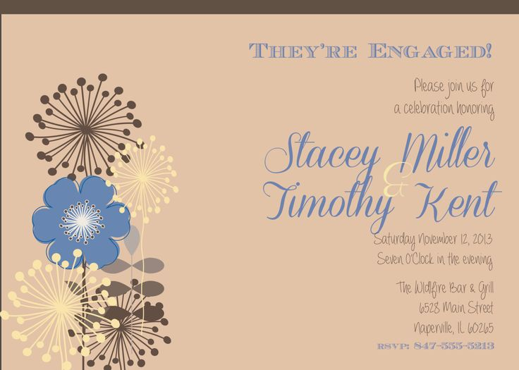 2628 best images about Engagement Party Invitations – Engagement Party Invitations Etsy