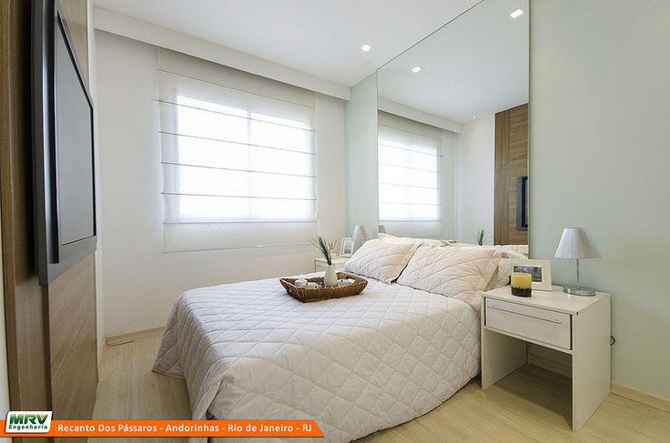 12 best images about Decorado Rio de Janeiro RJ MRV on  ~ Quarto Planejado Apartamento Mrv