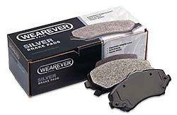Disc Brake Pad Wearever Silver Semi-Metallic Front MKD477 Advance Auto JEEP #ADVANCEWEAREVERSILVER
