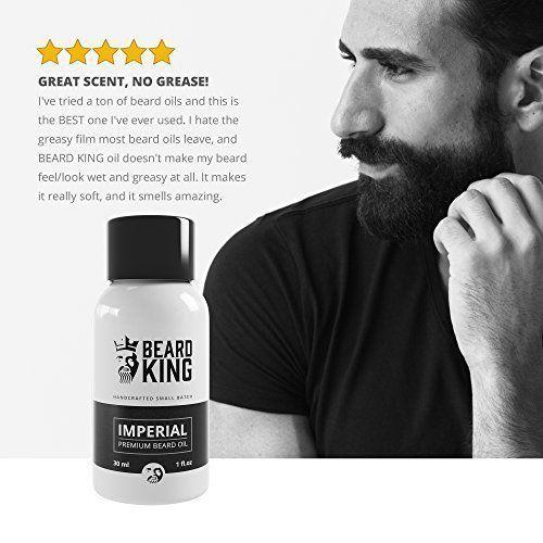 BEST Organic Hair Beard Growth Oil For Men And Supplements Vitamins Full Face #BEARDKING