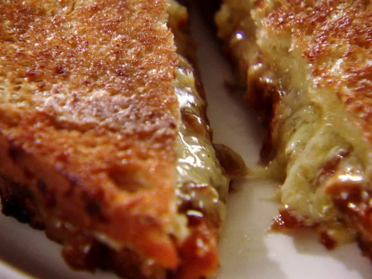 19 best chuck hughes recipes images on pinterest chef recipes chuck hughesilled cheese with caramelized onions from cookingchanneltv forumfinder Choice Image