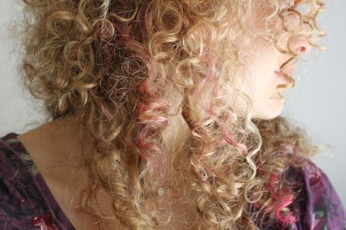 Fun color streaks in your hair