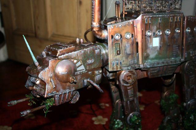 Steampunk-Star-Wars-AT-AT.jpeg (640×427) ~ Imperial Walker