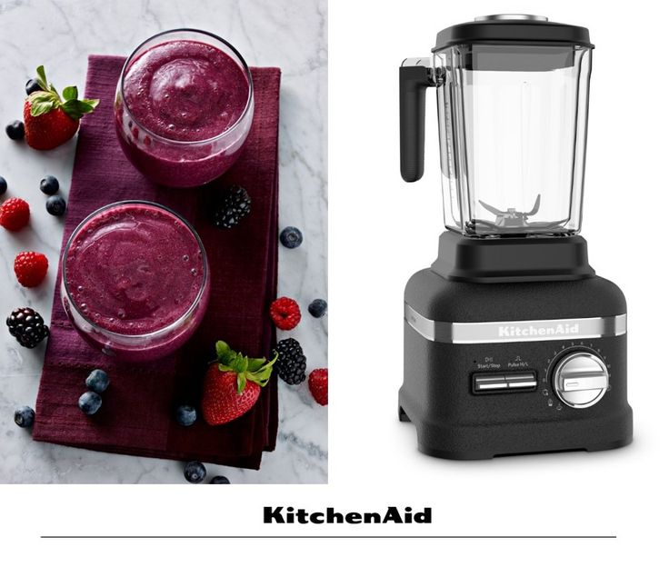 Healthy breakfast smoothies are so quick and easy to make with the all new Power Plus Blender. What's your favourite type of smoothie? #KitchenAidAfrica #HealthyLiving