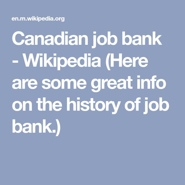 Wikipedia (Here Are Some Great Info On