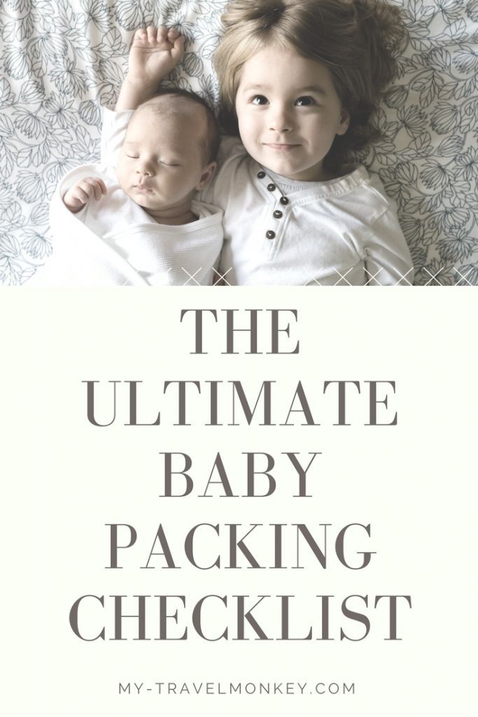 The Ultimate Baby Packing Checklist | Travelling With Baby | Family Travel | Packing Lists | Travel With Kids