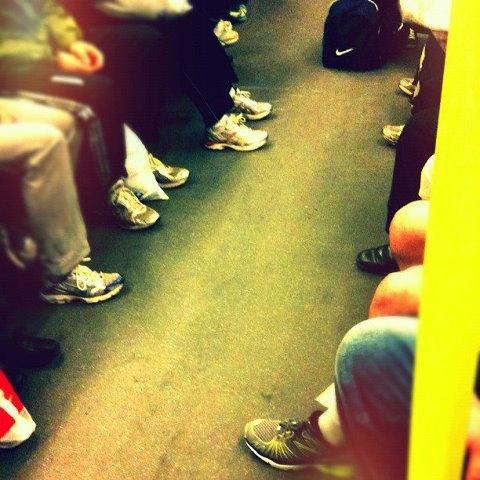 Halbmarathon Berlin. Subway