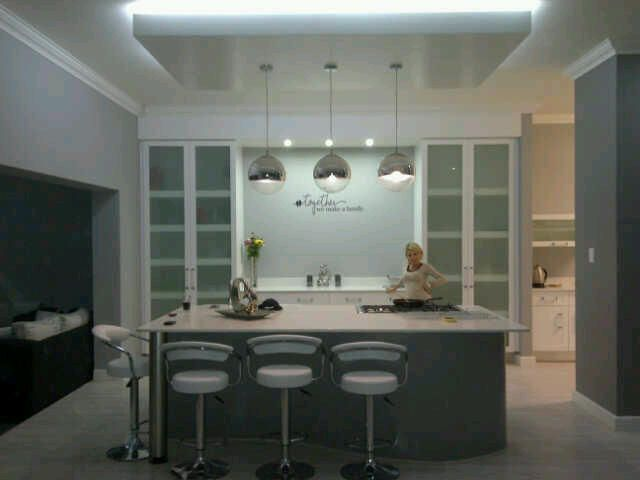 Modern, bulkhead for lights also manufactured and installed by YtiWci