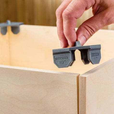 Rockler Clamp-It Clips 4-Packs  #woodprojects